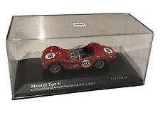 New Listing1:43rd Scale Die-Cast Paul's Model Art Minichamps Maserati Tipo 61 Shelby