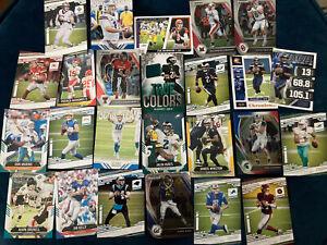NFL Quarterback Lot - Memorabilia - Prizm - Parallels - Inserts - HOF - 25 Cards
