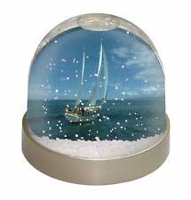 Sailing Boat Photo Snow Globe Waterball Stocking Filler Gift, BOA-2GL