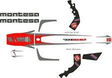 Montesa Cota 315R, 315 R  2004 Original style Sticker / Decal set