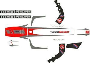 Montesa Cota 315R, 315 R Trials Bike 2004 Original style Sticker / Decal set