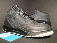 2011 NIKE AIR JORDAN III 3 RETRO FLIP GS BLACK CEMENT GREY 315768-001 4.5Y 4.5