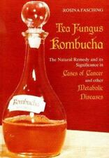 Tea Fungus Kombucha : The Natural Remedy and Its Significance in Cases of Cancer