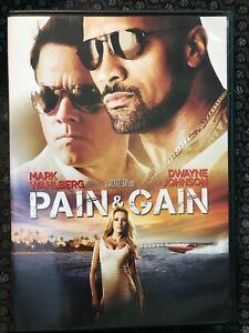 Pain & Gain (DVD 2013 Paramount) Mark Wahlberg, Dwayne Johnson - The Rock