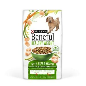 Purina Beneful Healthy Weight With Real Chicken 56 oz Bag