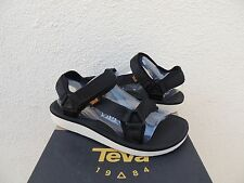 TEVA BLACK ORIGINAL UNIVERSAL PREMIER SANDALS, WOMENS US 7/ EUR 38 ~NIB