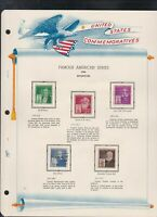united states commemoratives famous american inventors1940 stamps page ref 18255