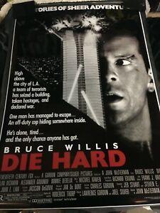 DIE HARD Movie POSTER 24x36 Bruce Willis