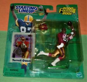 2000 TERRELL OWENS San Francisco 49ers Rookie *FREE_s/h* sole Starting Lineup