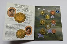 GREAT BRITAIN 2003 SET EURO COINS SPECIMEN PATTERN PROTOTYPE UNITED KINGDOM UK