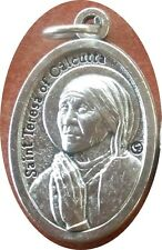 Lightweight Saint St. (Mother) Teresa of Calcutta Medal + Saw Jesus in everyone