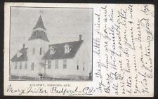 Postcard BEDFORD Quebec/CANADA  Academy School House view 1904