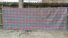 """Red Green Gold Christmas Plaid Rectangle 78""""x56"""" Tablecloth Free Shipping"""