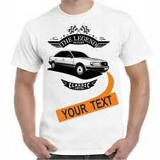 T-Shirt 100 C4 Oldtimer Legendary Car Wunschtext auf Kennzeichen
