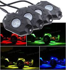 LED Offroad Rock Lights Aluminum Wireless w/Bluetooth Music RGB Under ATV Car C