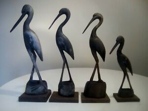 Retro Bird Ornaments.
