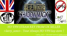 La edad de las maravillas sombra Mágico Vapor clave no VPN región libre de Reino Unido Vendedor