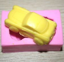 FD2727 Silicone Fondant Mould Cake Decorating Soap Candy Baking Mold ~3D Car~