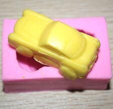 FD2727 Silicone Fondant Moule Gâteau Décoration Savon Bonbons Baking Mold ~ voiture 3D ~