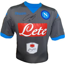 Signed Hirving Lozano Napoli Kappa Away Shirt Mexico PSV