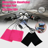 Electric Heated Gloves Inserts Handlebar Hand Warmer Winter Motorbike Motorcycle