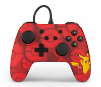 PowerA 1510836-01 Pokemon Wired Controller For Nintendo Switch, Pikachu Red