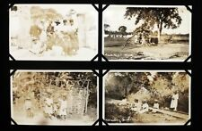 HAITI 24 RARE VINTAGE SILVER NITRATE PHOTOS - FROM ALBUM