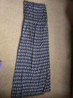 Accessorize maxi bandeau dress size M