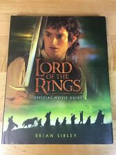 The Lord of the Rings Official Movie Guide Book Brian Sibley FAST SHIPPING USA
