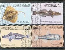 Australian Antarctic Territory-Fish-mnh set of 4(172-5)