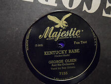 George Olsen - Chickery Chick / Kentucky Babe 78 Record RAY ADAMS