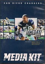 NFL-SAN DIEGO CHARGERS-2008 MEDIA KIT-CD ROM EDITION-HIGHLIGHTS FILM-SCREENSAVER