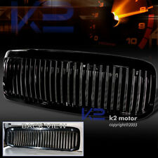 1999-2004 Ford F250 ABS Black Vertical Front Hood Grill Grille Cover Assembly