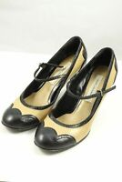 Marc Jacobs Black And Tan Pump 38 by Reluv Clothing