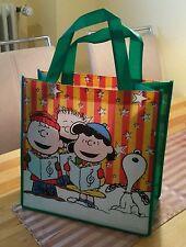 !! Snoopy / Peanuts - Tasche / Beutel / Bag Tüte Groß  bunt / Neu mit Etikett !