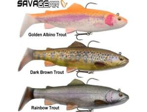 Savage Gear 4D Trout Rattle Shad new models ready to fish crazy prices