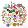 50Pcs Wood Button Animals Flat 2 Holes Scrapbooking DIY Sewing Wooden Buttons