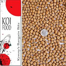 25 lbs Bulk Koi Fish Food 32% Protein LARGE Floating Pond Pellets for Pond Fish