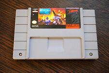 Jeu C2 : JUDGEMENT CLAY pour Super Nintendo version NTSC (US)