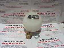 Olds 442, oldsmobile  GM licensed Custon Shift knob (Solid White)