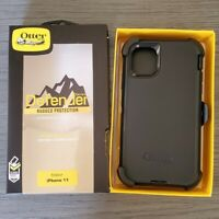 Otterbox Defender Case for Iphone 11 With Belt Clip Black Original