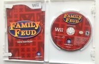Family Feud - 2010 Edition - Nintendo  Wii Game