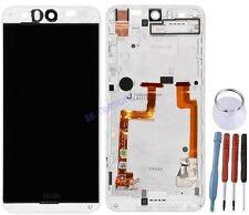 ECRAN LCD VITRE TACTILE SUR CHASSIS BLOC COMPLET POUR HTC DESIRE EYE M910N BLANC