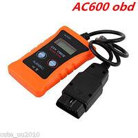 AC600 LCD Vehicles Car Diagnostic Scanner CAN OBDII Tester ELM327  Code Reader