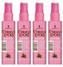 4 x 100ml Lee Stafford 'Choco Locks' (Cacao) Gloss Boss Hair shine polish