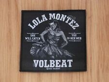 VOLBEAT - LOLA MONTEZ (NEW) SEW ON PATCH OFFICIAL BAND MERCH