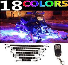 14pc Sled Snowmobile LED MillionColor Performance Neon Lighting Kit Yamaha Apex