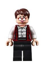 "[neu] LEGO Minifigur ""Janine Melnitz"" aus Ghostbusters Set 75827"