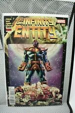 The Infinity Entity #2 Alan Davis Cover Marvel Jim Starlin Thanos Warlock 9.2
