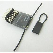 Lemon rx 6 canal récepteur Feather light end pin DSM2/Spektrum compatible uk